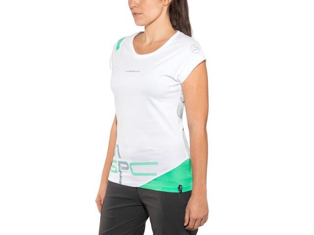 La Sportiva Shortener T-shirt Dame white
